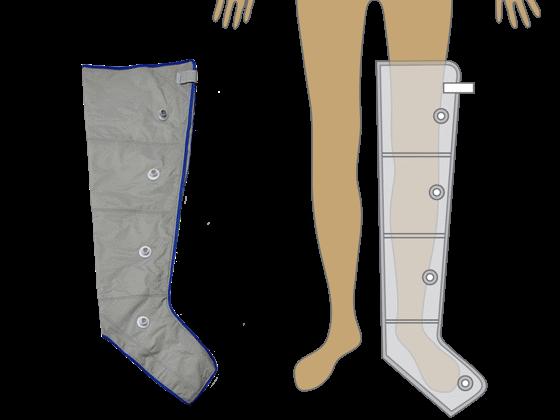 4 légkamrás láb mandzsetta M méret