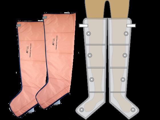 4 légkamrás láb mandzsetta M méret PQ-2200-hoz