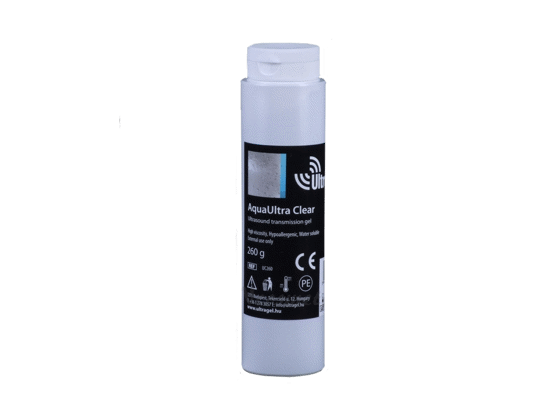 AquaUltra Clear Ultrahang gél 260g flakon