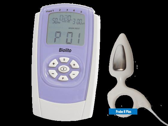 BioLito inkontinencia kezelő stimulátor Probe R Plus szondával