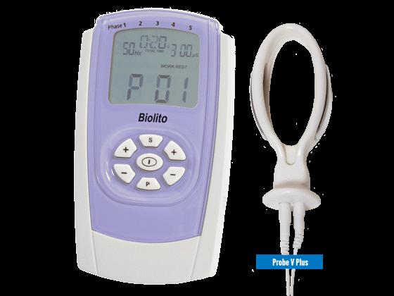 BioLito inkontinencia kezelő stimulátor IncoProbe V hüvelyi szondával