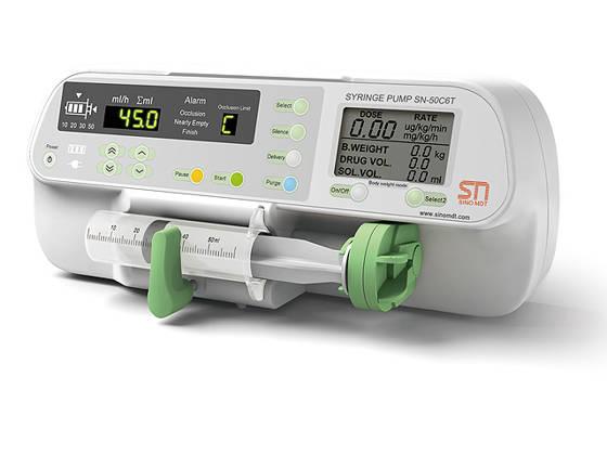 Fecskendős gyógyszerpumpa SN-50C6T