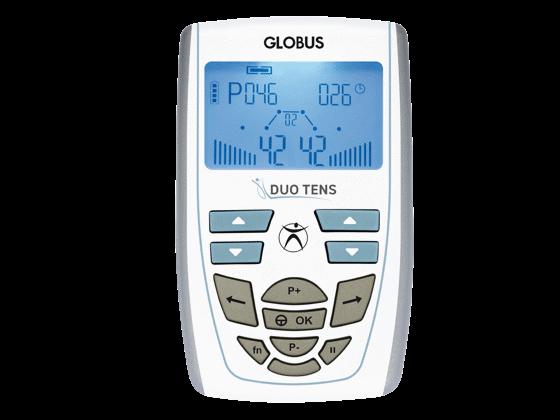 DuoTENS elektrostimulátor készülék kezelőfelülete jól áttekinthető, egyszerű használatot biztosít