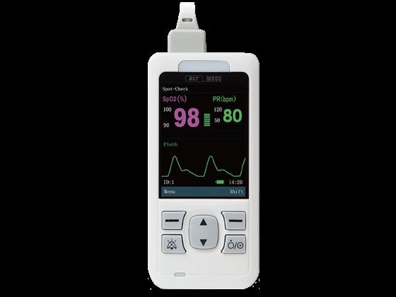 M800 kézi pulzoximéter készülék