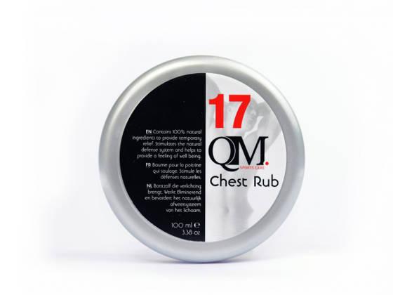 QM17 Chest Rub légzést segítő krém
